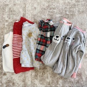 Other - Bundle baby girl clothes - 12 months